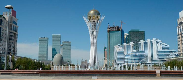 Largest mosque in the Republic of Kazakhstan and Asia
