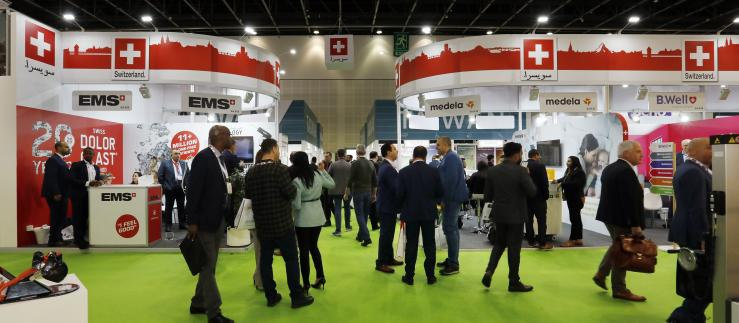 SWISS Pavilion at Arab Health