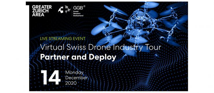 Virtual Swiss Drone Industry Tour: Partner and Deploy