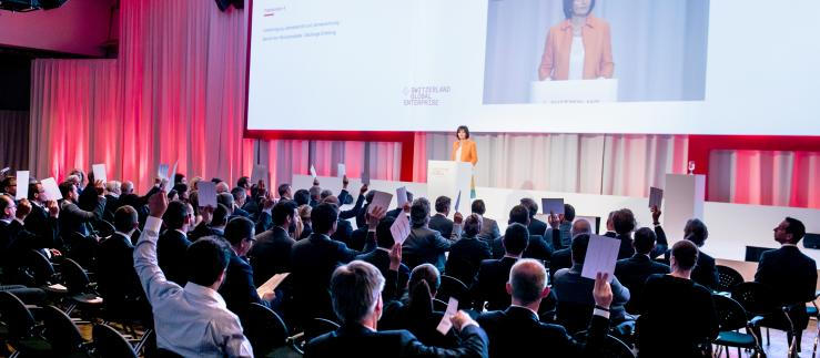 94. Generalversammlung von Switzerland Global Enterprise
