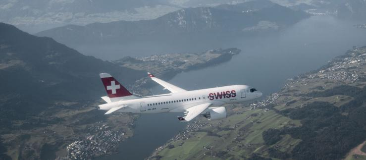 SWISS opts for innovation with the C Series