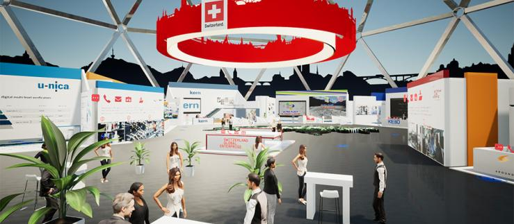 Virtual SWISS Pavilion