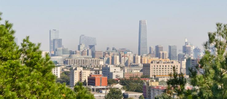 City view over Bejing