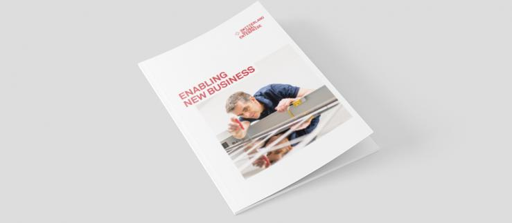 "Company Brochure ""Enabling new business"""