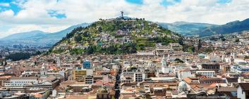 Quito - capitale dell'Ecuador
