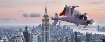 Electric plane rendering