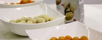 Dumet AG produces a huge variety of olives