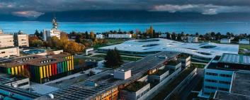 The Swiss Federal Institute of Technology in Lausanne (EPFL) is in fifth place. Image credit: EPFL