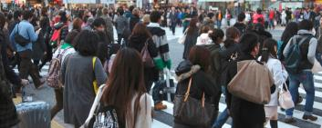 Tourism figures in Japan are growing more rapidly than expected.