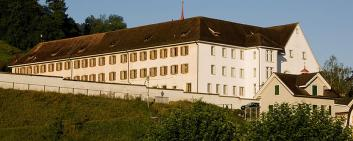 The former Capuchin monastery in Stans in the canton of Nidwalden.