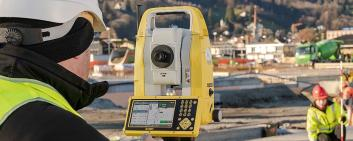 Leica Geosystems has developed a new generation of total stations. Image Credit: Leica Geosystems