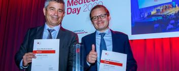 Rheon Medical and Coat-X at the Swiss Medtech Day 2020