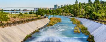 Collaboration with foreign companies on water management is important to Kazakhstan.