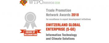 Award of Recognition for the Cleantech CUBE