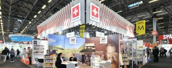 SWISS Pavilion at SIAL
