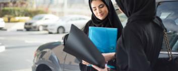 Businesswomen Saudi Arabia