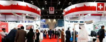 SWISS Pavilion Arab Health