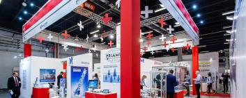 Picture of the Swiss Pavilion at Plastpol 2019