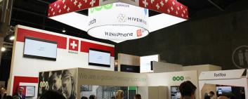 SWISS Pavilion @ Mobile World Congress
