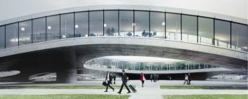 Rolex Learning Center, EPFL © Switzerland Global Enterprise