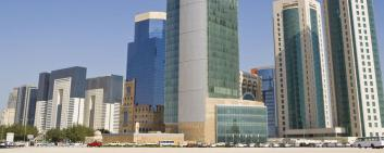 Quartier financier de Doha (Qatar)