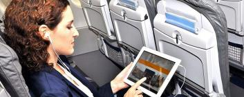 Lufthansa uses the inflight entertainment solution from Epteca.