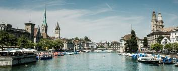 Reputation Institute published its latest ranking of the world's most reputable cities. Zurich came in third place. (generic image)